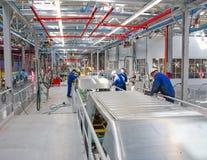 Γραμμή συνελεύσεων αυτοκινήτων Ford Sollers στοκ φωτογραφίες με δικαίωμα ελεύθερης χρήσης