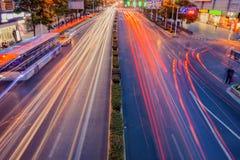 Γραμμή ταχύτητας οχημάτων Στοκ εικόνα με δικαίωμα ελεύθερης χρήσης