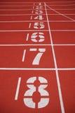 γραμμή τερματισμού τρέχοντας διαδρομές Στοκ εικόνες με δικαίωμα ελεύθερης χρήσης