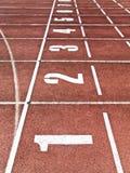 γραμμή τερματισμού Στοκ εικόνες με δικαίωμα ελεύθερης χρήσης