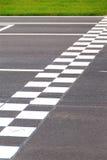 Γραμμή τερματισμού Στοκ Εικόνες