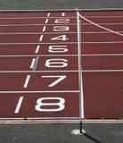 γραμμή τερματισμού Στοκ φωτογραφίες με δικαίωμα ελεύθερης χρήσης