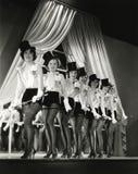 Γραμμή χορωδιών Στοκ Φωτογραφία