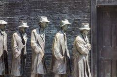 Γραμμή ψωμιού στο μνημείο Roosevelt Στοκ Φωτογραφίες