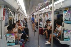 Γραμμή 11, Shenzhen, Κίνα μετρό Στοκ Εικόνες