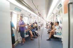 Γραμμή 11, Shenzhen, Κίνα μετρό Στοκ φωτογραφίες με δικαίωμα ελεύθερης χρήσης