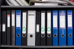 γραμματοθήκες αρχείων Στοκ εικόνα με δικαίωμα ελεύθερης χρήσης