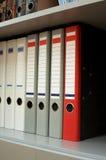 Γραμματοθήκες για τα έγγραφα Στοκ φωτογραφία με δικαίωμα ελεύθερης χρήσης