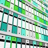 γραμματοθήκη ανασκόπησης απεικόνιση αποθεμάτων