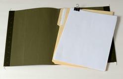 γραμματοθήκη ανοικτή Στοκ εικόνες με δικαίωμα ελεύθερης χρήσης