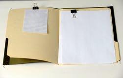 γραμματοθήκη ανοικτή Στοκ εικόνα με δικαίωμα ελεύθερης χρήσης