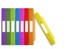 γραμματοθήκη χρώματος στοκ φωτογραφία