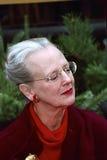 ΓΡΑΜΜΑΤΟΣΗΜΟ ΧΡΙΣΤΟΥΓΕΝΝΩΝ ΒΑΣΙΛΙΣΣΑΣ MARGRETHE ΣΧΕΔΙΟ Στοκ φωτογραφίες με δικαίωμα ελεύθερης χρήσης