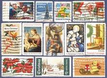 γραμματόσημα εποχής ταχυ&d Στοκ φωτογραφίες με δικαίωμα ελεύθερης χρήσης