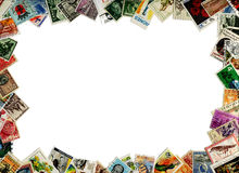 γραμματόσημα πλαισίων Στοκ φωτογραφία με δικαίωμα ελεύθερης χρήσης