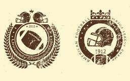 Γραμματόσημα ποδοσφαίρου Στοκ Εικόνες