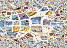 γραμματόσημα πτήσης Στοκ φωτογραφίες με δικαίωμα ελεύθερης χρήσης