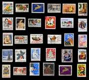 γραμματόσημα συλλογής Χ&rh Στοκ φωτογραφία με δικαίωμα ελεύθερης χρήσης