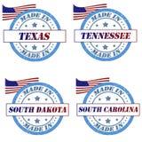 Γραμματόσημα της Αμερικής ελεύθερη απεικόνιση δικαιώματος