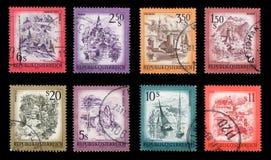 Γραμματόσημα Στοκ εικόνα με δικαίωμα ελεύθερης χρήσης