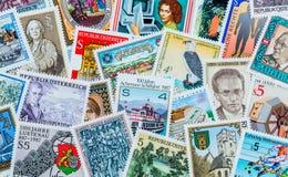 γραμματόσημα Στοκ Φωτογραφίες