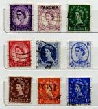 γραμματόσημα UK Στοκ Φωτογραφία