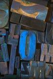 Γραμματόσημο αλφάβητου, κεφαλαία γράμματα Στοκ Εικόνα