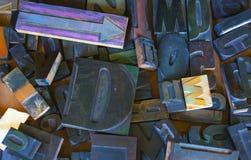 Γραμματόσημο αλφάβητου, κεφαλαία γράμματα Στοκ Εικόνες