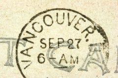 γραμματόσημο Βανκούβερ Στοκ Φωτογραφία