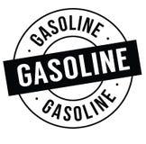 Γραμματόσημο βενζίνης στο λευκό ελεύθερη απεικόνιση δικαιώματος