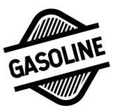 Γραμματόσημο βενζίνης στο λευκό απεικόνιση αποθεμάτων