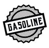Γραμματόσημο βενζίνης στο λευκό διανυσματική απεικόνιση