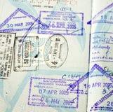 γραμματόσημο εγγράφου Στοκ Εικόνα