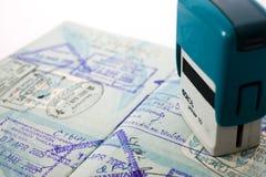γραμματόσημο εντυπώσεων Στοκ φωτογραφία με δικαίωμα ελεύθερης χρήσης