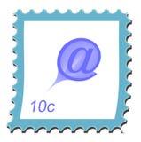 γραμματόσημο ηλεκτρονι&kappa Στοκ Εικόνες