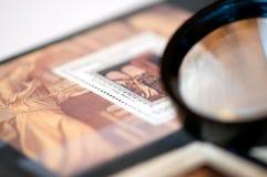γραμματόσημο λευκωμάτων στοκ εικόνες