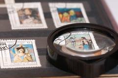 γραμματόσημο λευκωμάτων στοκ φωτογραφία με δικαίωμα ελεύθερης χρήσης