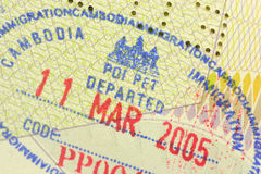 γραμματόσημο μετανάστευ&sig στοκ εικόνες