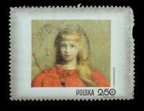 Γραμματόσημο που απομονώνεται Στοκ Φωτογραφία