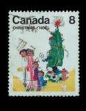 Γραμματόσημο που απομονώνεται Στοκ Εικόνα