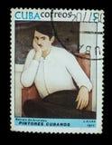 Γραμματόσημο που απομονώνεται Στοκ Εικόνες