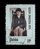 Γραμματόσημο που απομονώνεται Στοκ φωτογραφίες με δικαίωμα ελεύθερης χρήσης