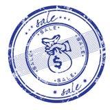 γραμματόσημο πώλησης Στοκ εικόνα με δικαίωμα ελεύθερης χρήσης