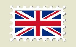 γραμματόσημο σημαιών της Μ&epsil Στοκ Εικόνες