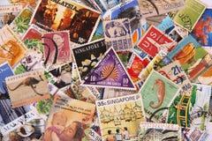 γραμματόσημο συλλογής Στοκ εικόνες με δικαίωμα ελεύθερης χρήσης