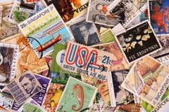 γραμματόσημο συλλογής Στοκ φωτογραφία με δικαίωμα ελεύθερης χρήσης
