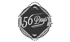γραμματόσημο σχεδίου εξουσιοδότησης 56 ημερών ελεύθερη απεικόνιση δικαιώματος