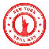 Γραμματόσημο της Νέας Υόρκης Στοκ Εικόνες