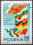 γραμματόσημο της Πολωνίας Στοκ Εικόνες