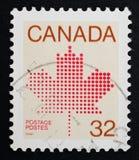 Γραμματόσημο του Καναδά Στοκ Εικόνες